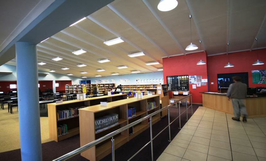 Tj architects south africa library architecture king for Tj motors new london