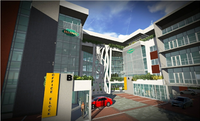 Tj architects south africa commercial office architecture for Tj motors new london